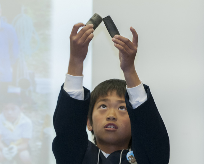 最年少チームの東広島市吉川小学校