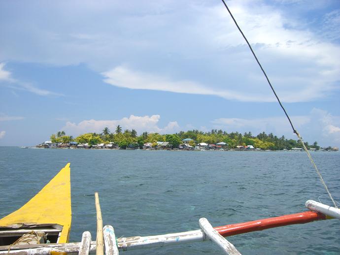フィリピンのカオハガン島