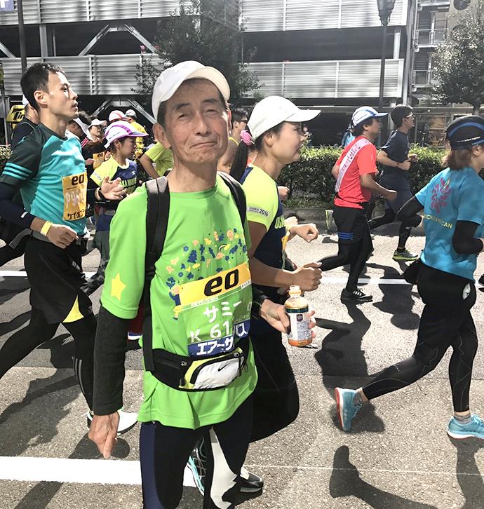 チャリティランナー松村正道さん(79歳)も完走しました!