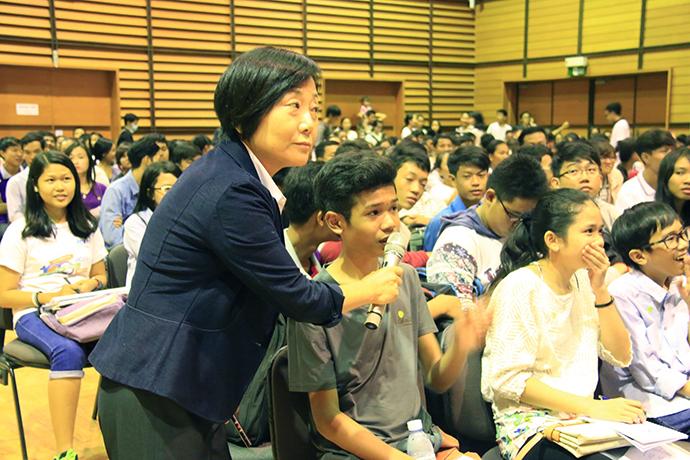 イベントで若者達に聞いた「あなたが出来ることは何ですか?」